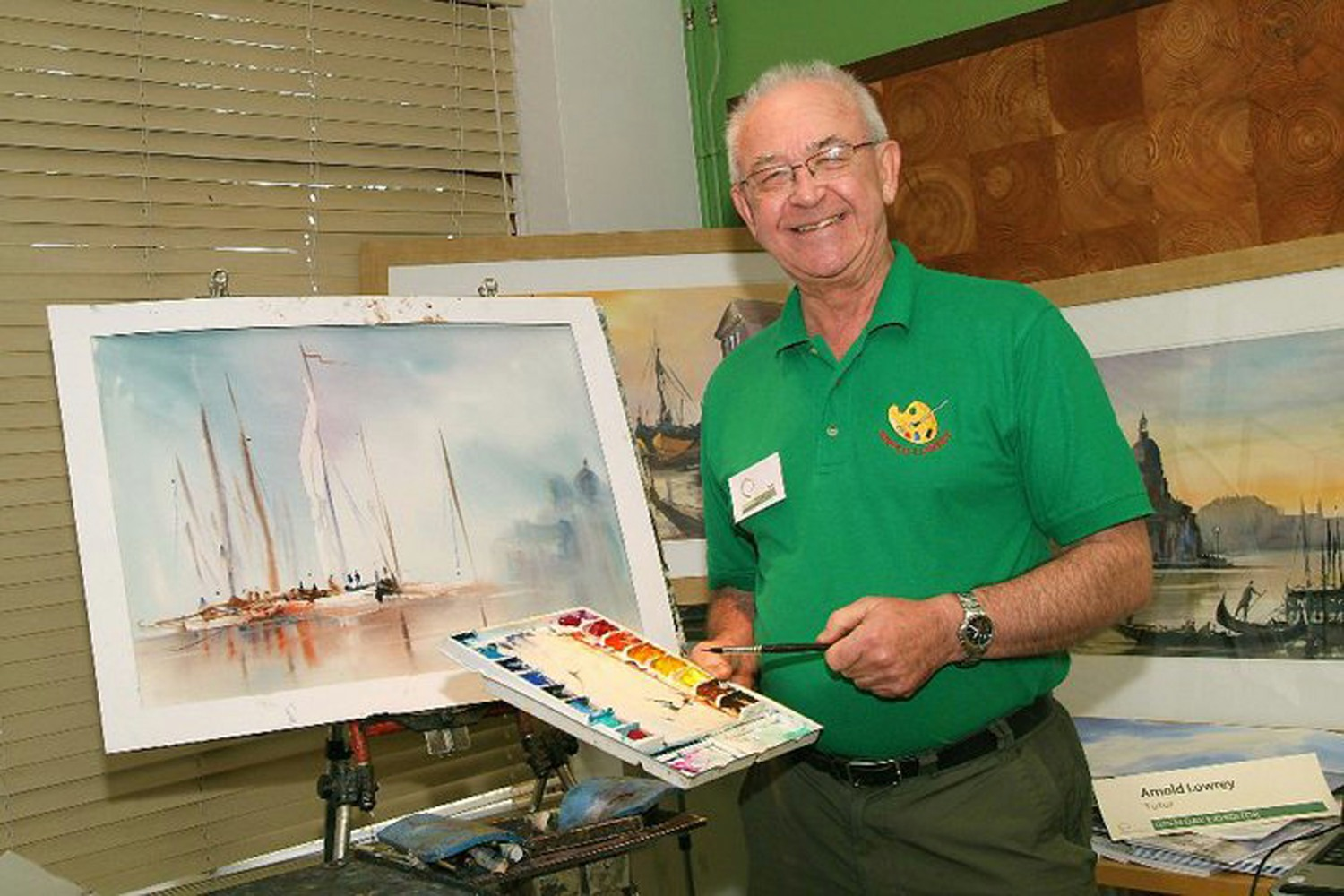 Alpha Painting Holiday Tutor - Arnold Lowrey